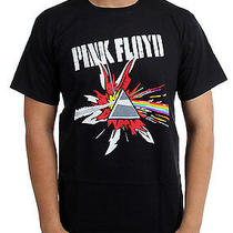 Pink Floyd - Mens Pop Art Dark Side Prism T-Shirt Photo