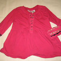Pink Guess Long Sleeves Top Shirt 3 3t Photo