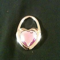 Pink Heart Folding Purse Hook Photo