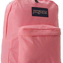 Pink Jansport Backpack Back to School College Hiking Girls Lifetime Warranty Photo