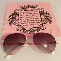 Pink Juicy Couture Sunglasses Photo