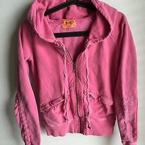 Pink Juicy Couture Sweatsuit Fun Lounging Embroidery Relaxing at Home Chill  Photo