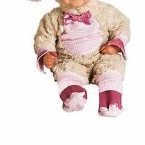 Pink Lamb Infant Halloween Costume - Infant 0-6 Months  Photo