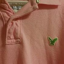 Pink Large American Eagle Polo Shirt for Men Photo