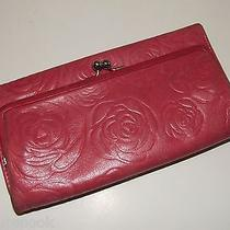 Pink Leather Brighton Clutch Wallet   J1352 Photo