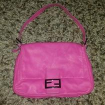 Pink Leather Fendi Handbag Photo