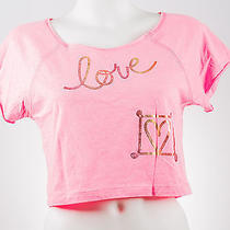 Pink - Love- Vintage Havana Girl Top/shirt - Size Large Photo