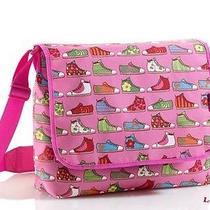 Pink Messenger Bag Agatha Ruiz De La Prada Sneaker Satchel School Supplies Photo