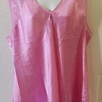 Pink Oscar De La Renta Pin Label Nightie Size 2x Photo