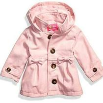 Pink Platinum Baby Girls Wool Coat With Cute Bow Blush Size 18 Months Nwdp Photo