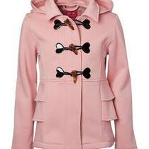 Pink Platinum Girls' Fleece Hood Coat Blush Sz 10/12 Nwt Photo
