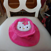 Pink Plush Hello Kitty Winter Hat From Sanrio Photo