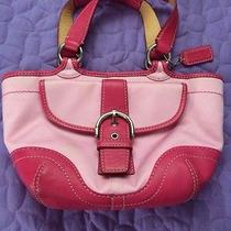 Pink Small Coach Bag Photo