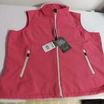 Pink 'Storm' by  Dickies Softshell Stretch Vest  Zipper Front and Side Pockets Photo