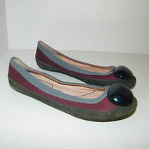 Pink Studio 6 Shoes Hues of Color Leather Flats New  Photo