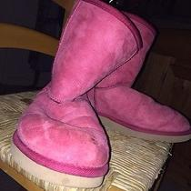 Pink Uggs Size 8 Photo