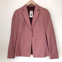 Pink Versace Blazer Silk Blend Photo