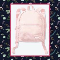Pink Victoria Secret Blush Pink Nylon Mini Backpack Bnwt Photo