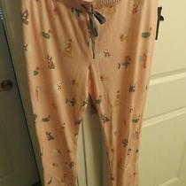 Pj Salvage Pink Dogs Pajama Lounge Jogger Pants Xl - Nwt - Dachshund Beagle Photo