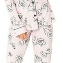 Pj Salvage Women's Sleepwear Pink Size Large L Floral Pajama Sets 98- 234 Photo