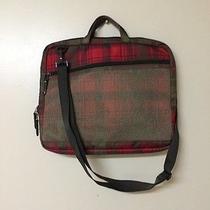 Plaid Burton Laptop Carrying Case Euc Photo