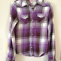 Plaid Fitted Shirt Size Xs Photo