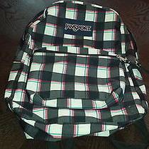 Plaid Print Jansport Backpack Photo