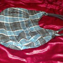 Plaid Roxy Cloth Purse Photo