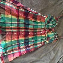 Plaid Summer Dress Size Small Photo