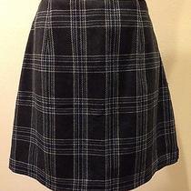 Plaid Winter Mini Skirt Photo