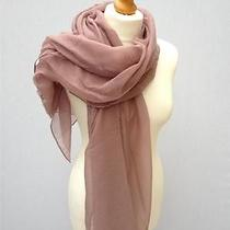 Plain Mink Pink Ladies Scarf Wrap Pashmina Shawl Sarong Weddings Holidays Photo