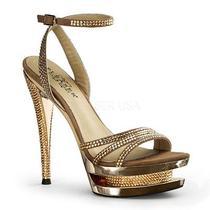 Pleaser Fascinate-615 633 637 638 639 650 652 Rhinestones Suede Dress Prom Heels Photo