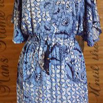 Plenty by Tracy Reese Blue Dress-- Size M Photo
