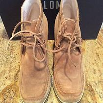 Plenty by Tracy Reese Brown Wedge Boots Booties Sz 38 Photo
