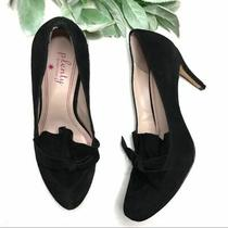 Plenty by Tracy Reese Size 36.5 Black Dolly Pumps Photo