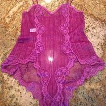 Plum Purple Teddy Size 32 by Blush Photo