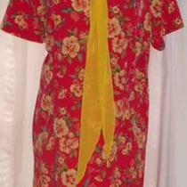 Plus Size Womens Summer Dress Size 22w  Cute Scarf Inc. Photo