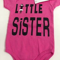 Pluto American Apparel Little Sister Pink One Piece Top Nwt Infant 6 Months Photo