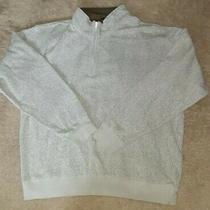 Po Orvis Brighton Quarter Zip Sherpa Lined Mens Pullover Sweater Gray Xxl 2xl Photo