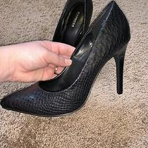 Pointed Toe Heels Pumps From Express Women Size 6 Black  Photo