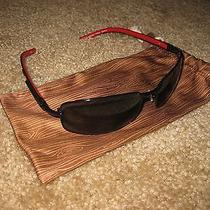 Polarized Fossil Sunglasses Cat. no.3  Garrison Ms4756 040 63-17-130 Red Black Photo