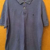 Polo by Ralph Lauren Pique Polo Size L Photo
