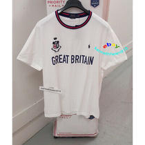 Polo Ralph Lauren Classic Fit Britain Tee Shirt White Mens Size Xl Photo