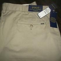 Polo Ralph Lauren Classic Fit Hudson Tan Pants  Sz. 38 X 36 / New With Tags Photo