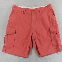 Polo Ralph Lauren Distressed Cotton Cargo Shorts (Mens 38) Blush Photo