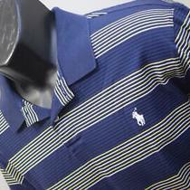 Polo Ralph Lauren Golf Polo Moisture Manager Striped Short Sleeve Mens Sz Large Photo