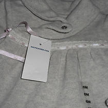 Polo Ralph Lauren Infant----- Infant Gray  Outfit 6 Month Cute Photo