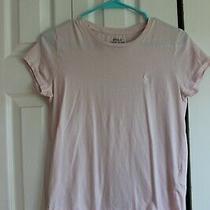 Polo Ralph Lauren Ladies Pink Short Sleeve Shirt Size Small Photo