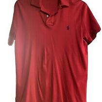 Polo Ralph Lauren Men's Pony Custom Slim Fit Mesh Polo Shirt Short Sleeve Shirt  Photo