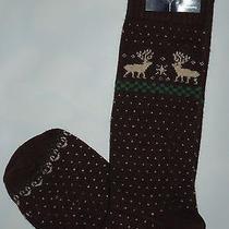 Polo Ralph Lauren Mens Cashmere Dress Socks  Brown Size10-13 Photo
